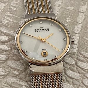 🐶 SKAGEN Silver and Gold Toned